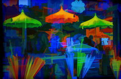 Seattle Colors Royalty Free Stock Images