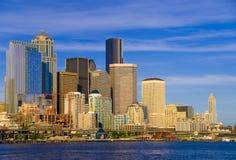 Seattle da baixa foto de stock royalty free