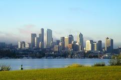 Seattle dalla sosta dell'officina del gas Fotografie Stock Libere da Diritti