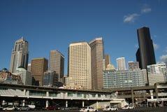 Seattle de stad in stock afbeeldingen