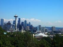 Seattle de stad in 3 Stock Afbeelding