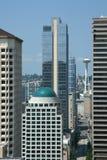 Seattle del centro Fotografia Stock