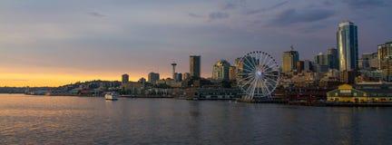 Seattle del centro Fotografie Stock