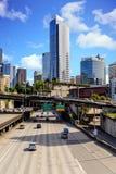 Seattle del centro diretta da uno stato all'altro Fotografia Stock