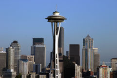 Seattle del centro Washington S.U.A. fotografia stock libera da diritti