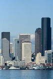 Seattle di giorno Fotografie Stock Libere da Diritti
