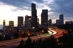 Seattle diretta Immagine Stock