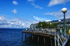 Seattle dock Royalty Free Stock Photography