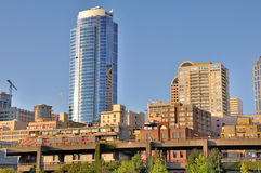 Seattle Downtown Royalty Free Stock Images