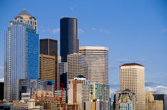 Seattle Downtown Stock Image