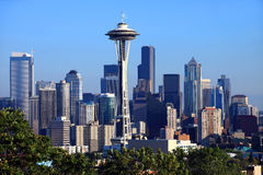 Seattle downtown skyline. Stock Photos