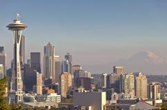 Seattle downtown skyline Washington state. Stock Image