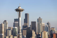 Seattle downtown skyline Washington state. Royalty Free Stock Image
