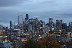 Seattle Downtown, South Lake Union Royalty Free Stock Images