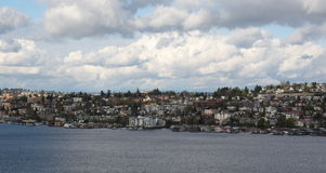 Seattle downtown south lake union Royalty Free Stock Images