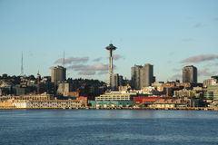 Seattle downtown, space needle Stock Photos