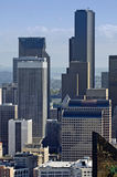 Seattle du centre Photographie stock libre de droits