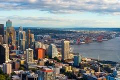 Seattle du centre image libre de droits