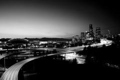 Seattle du centre Images libres de droits
