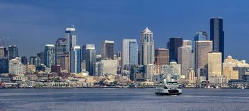 Seattle du centre, Washington Photo stock