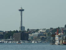 Seattle e l'ago dello spazio Immagini Stock Libere da Diritti