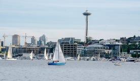 Seattle żeglowanie obraz royalty free