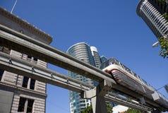 Seattle-Einschienenbahn lizenzfreie stockfotografie