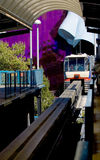 Seattle-Einschienenbahn lizenzfreies stockfoto