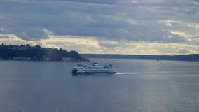Seattle Elliott Bay imagen de archivo libre de regalías