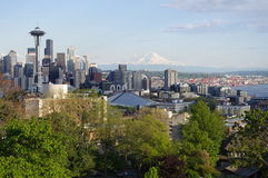 Seattle, the emerald city of the Northwest Royalty Free Stock Images