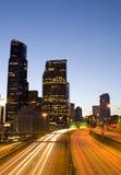 Seattle en het verkeer van de binnenstad Royalty-vrije Stock Afbeeldingen