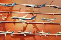 Seattle, Etats-Unis - 1er septembre 2018 : Le modèle de Boeing dans un magasin à une usine de Seattle Boeing photographie stock libre de droits