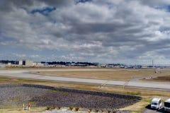 Seattle, Etats-Unis - 1er septembre 2018 : Usine et piste de Boeing au champ de Boeing photo stock