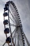 Seattle, Etats-Unis - 2 septembre 2018 : La roue de ferris de grande roue, un point de repère iconique à Seattle photos libres de droits