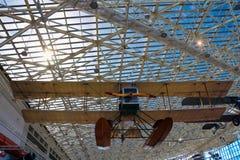 Seattle, EUA, o 3 de setembro de 2018: O museu do voo é o o museu privado o maior do ar e de espaço no mundo fotografia de stock