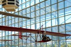 Seattle, EUA, o 3 de setembro de 2018: O museu do voo é o o museu privado o maior do ar e de espaço no mundo imagens de stock