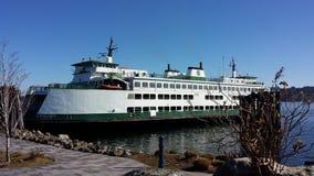 Seattle-Fähre lizenzfreies stockfoto