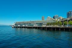 Seattle-Fährhafen stockfotos