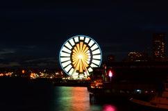 Seattle Ferris Wheel Stock Photos