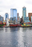 Seattle ferris wheel. View is from the water Stock Images