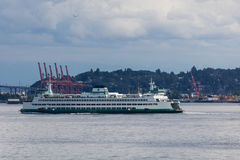 Seattle Ferry Boat Stock Photos