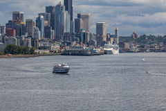Seattle Ferry Royalty Free Stock Photos