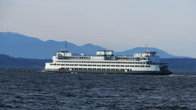 Seattle ferry Royalty Free Stock Image