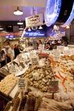 Seattle fish market Royalty Free Stock Photos