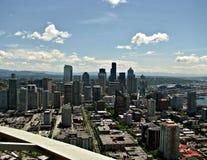 Seattle från avståndsvisare 1 fotografering för bildbyråer