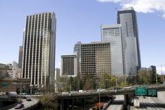 Seattle freeway Stock Photos