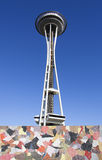 Seattle Futuristic Architecture - Space Needle Royalty Free Stock Photography