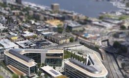 Seattle-Gebäude Lizenzfreie Stockbilder