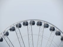 Seattle Great Wheel Royalty Free Stock Photo