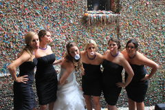 Seattle Gum Wall Stock Photography
